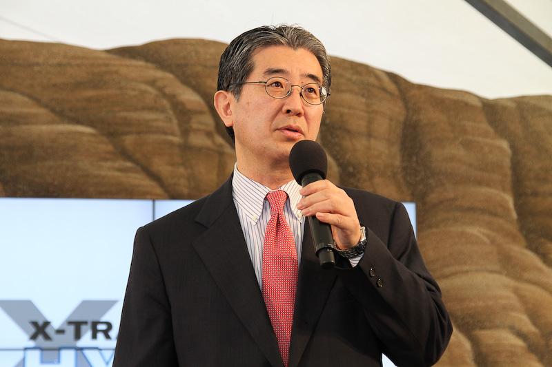 副社長の片桐隆夫氏