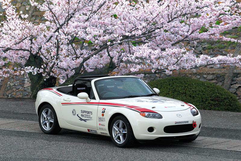 「マツダ・ウィメン・イン・モータースポーツ・プロジェクト2015」で使用するトレーニング用車両