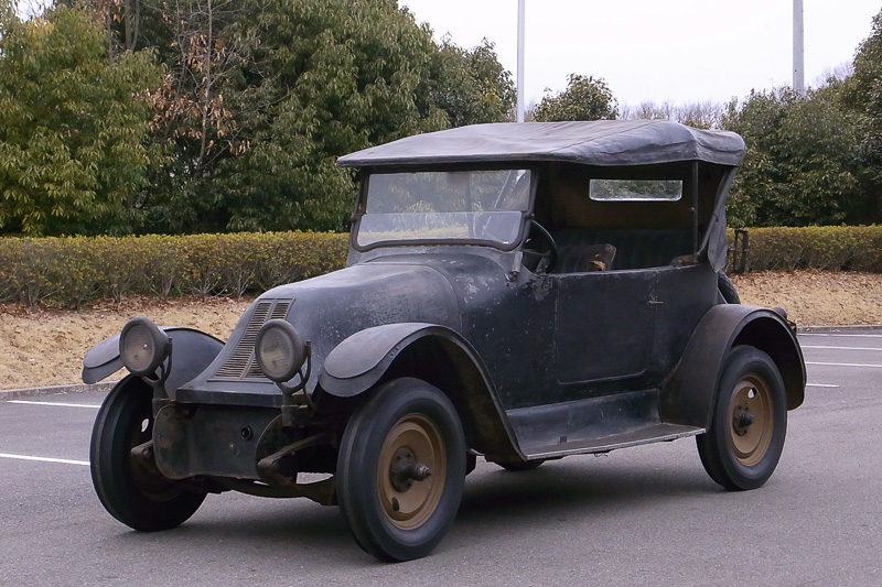 フランクリン シリーズ9(走行披露車:写真はレストア前のもの)