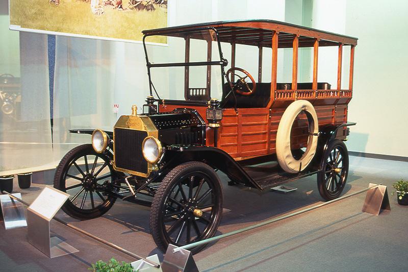 フォード モデルT デポヘック(同乗試乗車)
