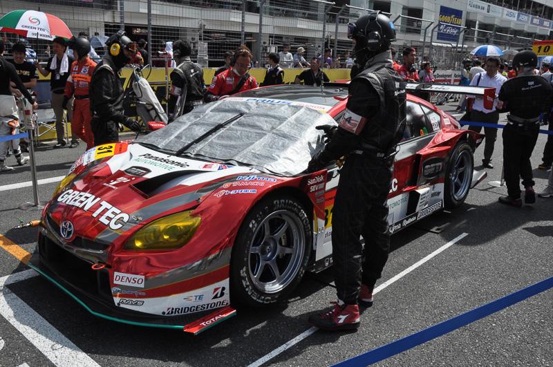 前線優勝、富士でもポールポジションを獲得した31号車 TOYOTA PRIUS apr GT