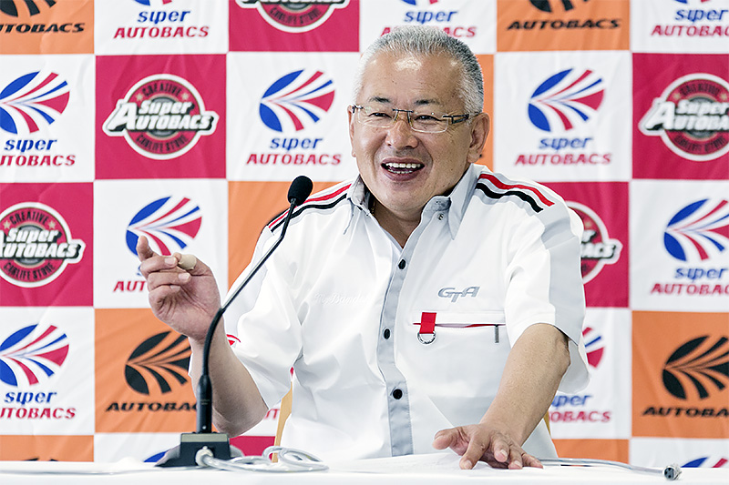 SUPER GTを運営するGTアソシエイション 代表取締役 板東正明氏