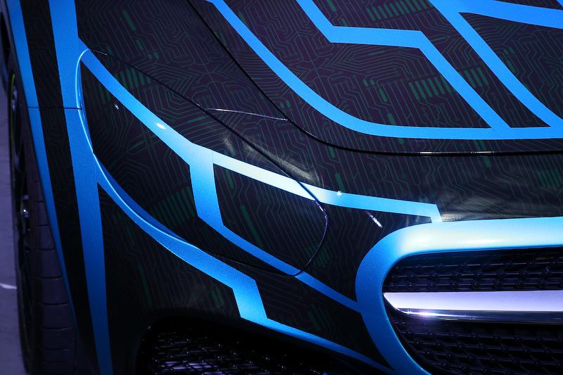 「劇場版 仮面ライダードライブ サプライズ・フューチャー」に登場するメルセデスAMG GT