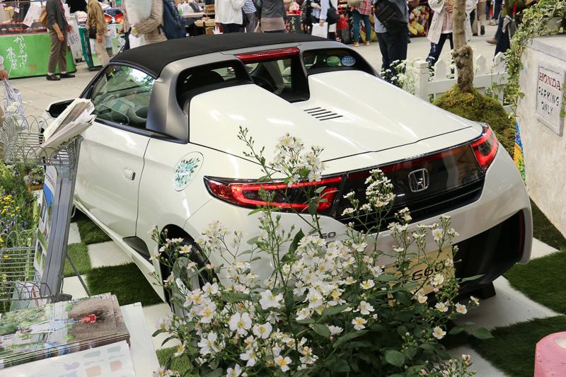 「Honda S660 CONCEPT 国際バラとガーデニングショウカスタマイズモデル」