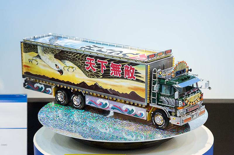 1/32「一番星 度胸一番星」。6月発売予定、予価1万4800円(税別)。アオシマの看板シリーズ。金型も大幅に追加されているという
