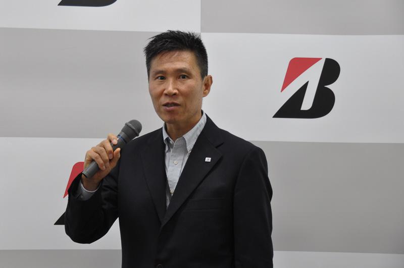 アルティメット アイについては、ブリヂストン タイヤ研究部 操安研究ユニットリーダー 松本浩幸氏が解説