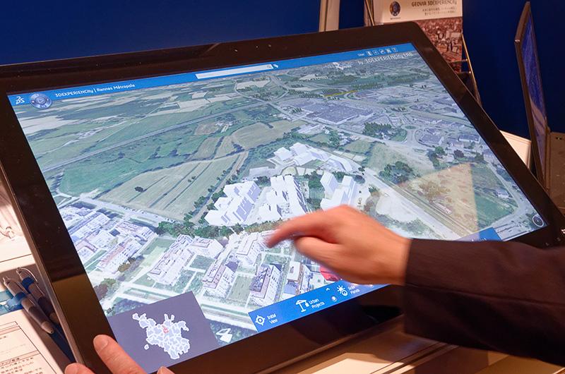 都市開発に活用できる「3DEXPERIENCity」