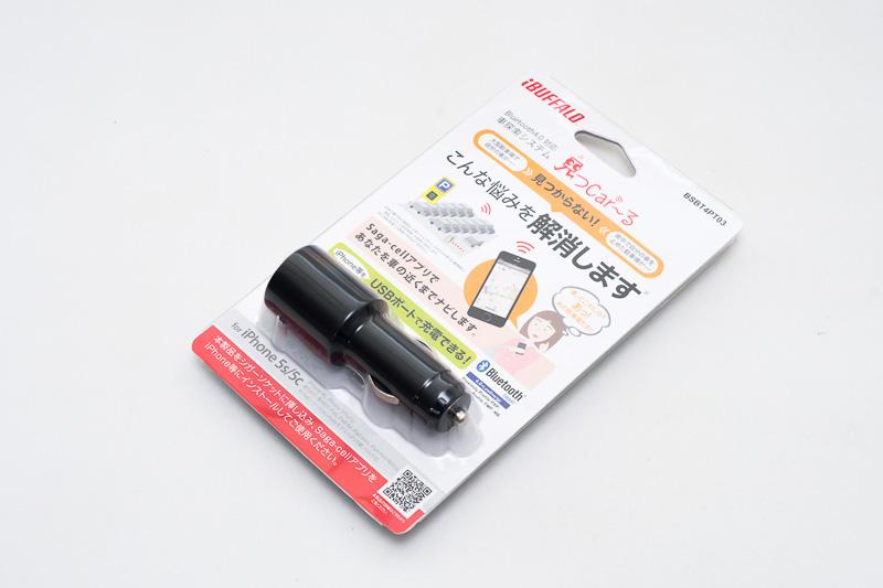 バッファローの「見つCar~る」(BSBT4PT03) 価格:5350円(税別)