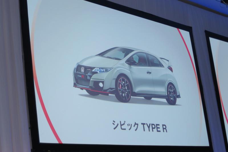 欧州市場で誕生した5ドアのシビックをベースとした「シビック タイプR」は、日本市場で今秋の発売を予定
