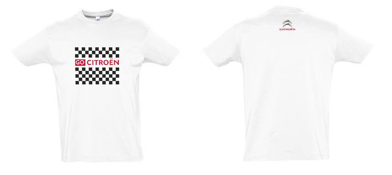 「GO CITROEN」のロゴが胸に入ったオリジナルTシャツとスティックバルーンがセットになったファンキットがチケットに付属