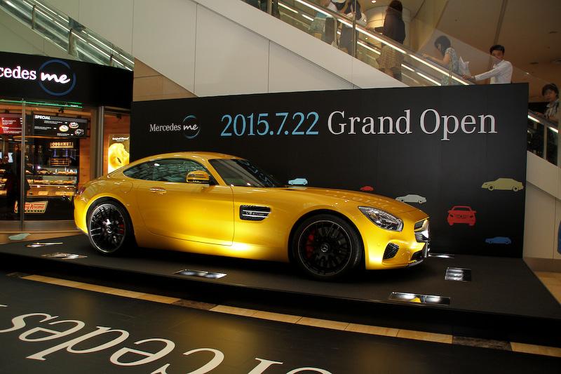 「AMG GT」などメルセデスの最新モデルが展示される
