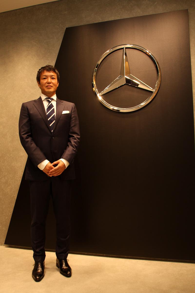 シュテルン品川 代表取締役社長の須田氏は「メルセデス ミー 東京羽田を通じてメルセデスを購入検討されていらっしゃらない方々にアプローチしていきたい」と意気込みを語ってくれた