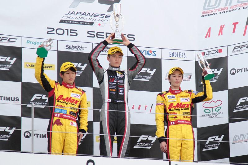 第4戦も3位表彰台を獲得。これでドライバーズランキング3位に!