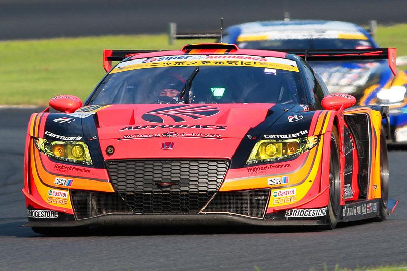 55号車 ARTA CR-Z(高木真一/小林崇志組)。レースをリードし続け、そのまま優勝した