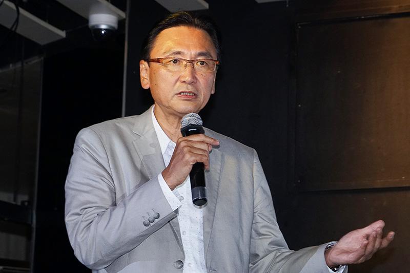 自民党 モータースポーツ振興議員連盟 会長 古屋圭司氏