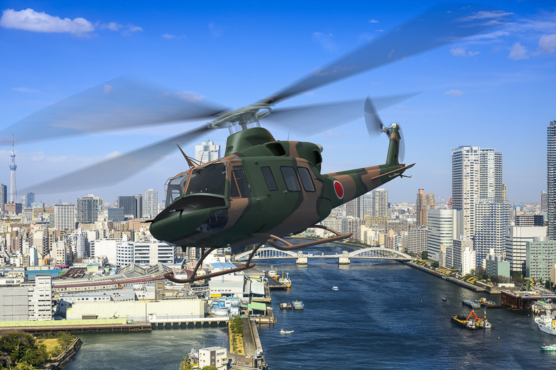 新多用途ヘリコプター「UH-X」の完成イメージ