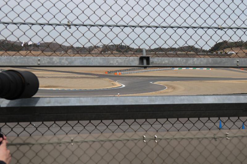 同じカメラホールからビクトリーコーナー側を見た風景