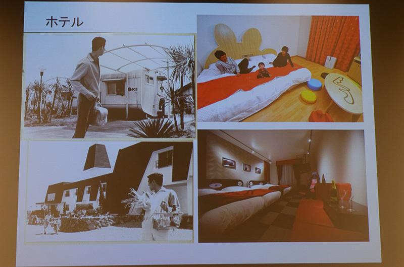 鈴鹿サーキットに併設されているゆうえんち、ホテルなどの過去の写真も