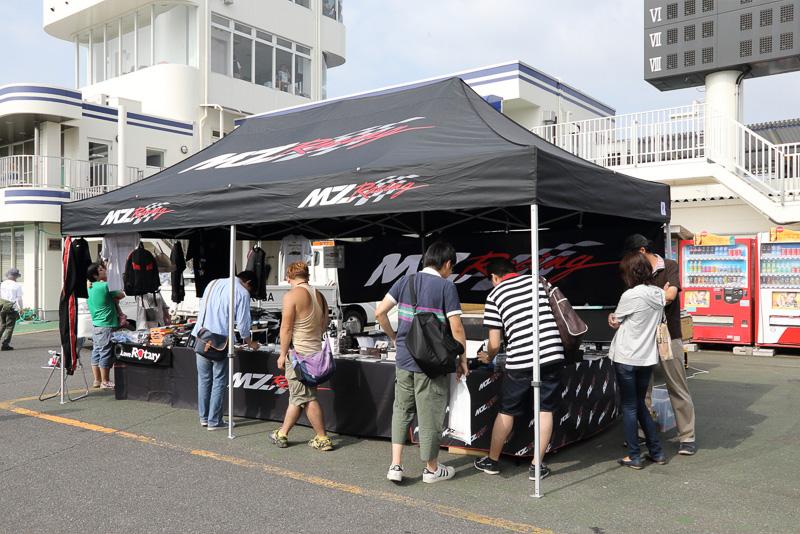MZ Racingのブース