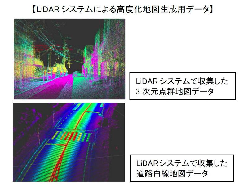 「3D-LiDAR(ライダー)」を使って自動運転に向けた高度化地図データの作成を目指す