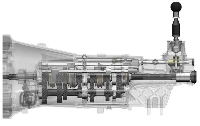 6速MTの構造
