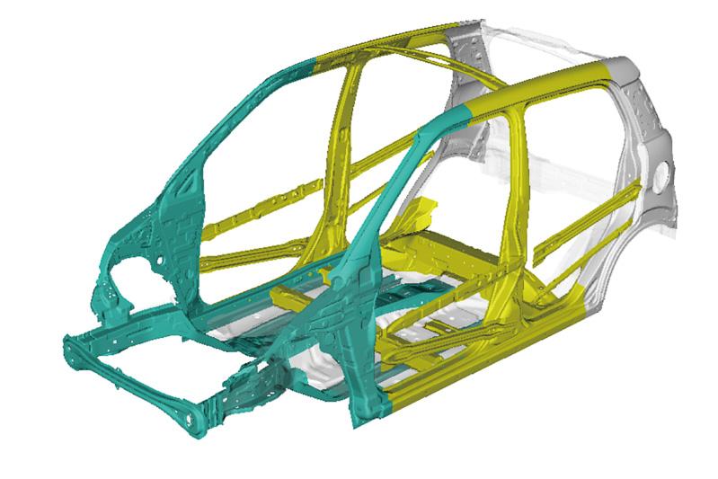 軽量高剛性ボディー骨格構造「D monocoque」(Dモノコック)に加え、「D suspension」(Dサスペンション)、「D assist」(Dアシスト)などムーヴから採用されたシャシー技術を継承