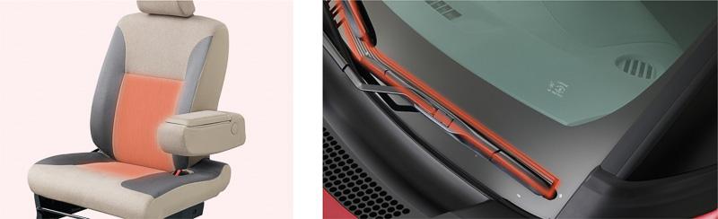 運転席シートヒーターやウインドシールドディアイサーなどをセットにした「ウォームパック」は全車にオプション設定