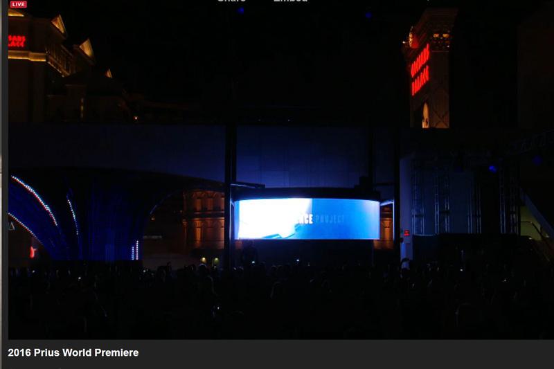 発表会のWeb中継(キャプチャー画像)