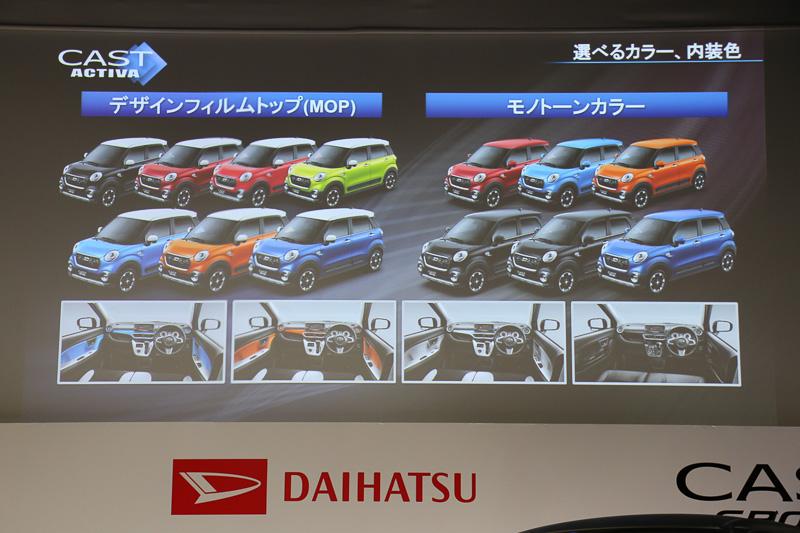 多彩なボディーカラーとメーカーオプションの組み合わせが用意されるほか、ディーラーオプションの装着によって自分だけの1台を表現できるという
