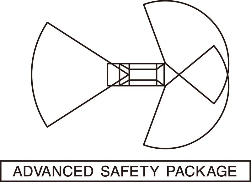 「アドバンスドセイフティパッケージ」のロゴマーク