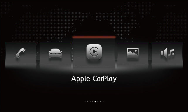 「Composition Media」は「Apple CarPlay」「Android Auto」「MirrorLink」に対応