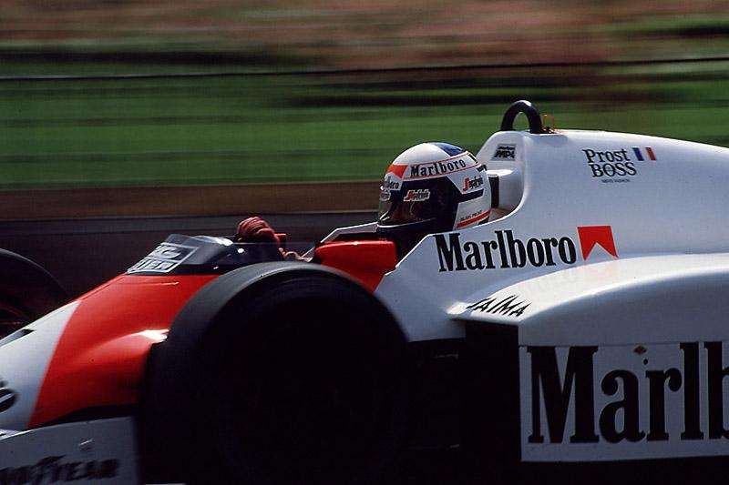 1986年は最終戦でプロストが大逆転によってドライバーズチャンピオンを獲得した
