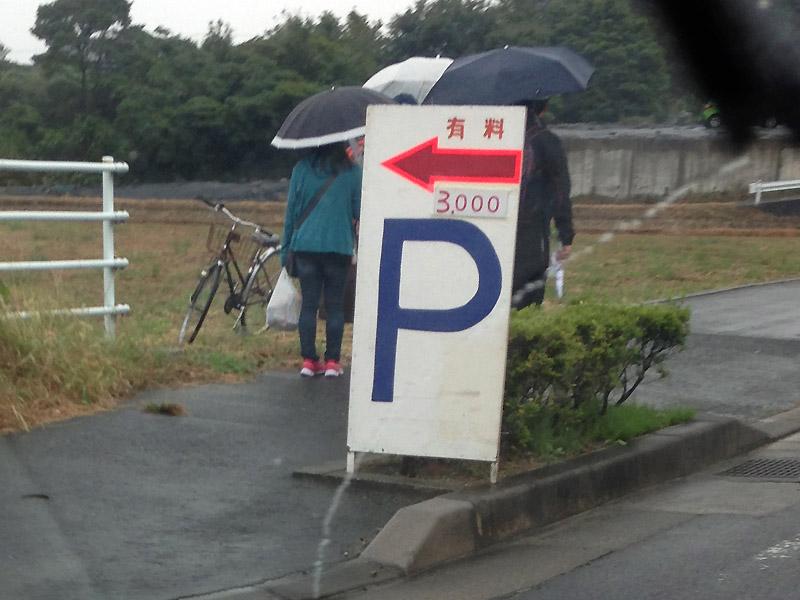 E 道伯町付近(日曜日撮影)