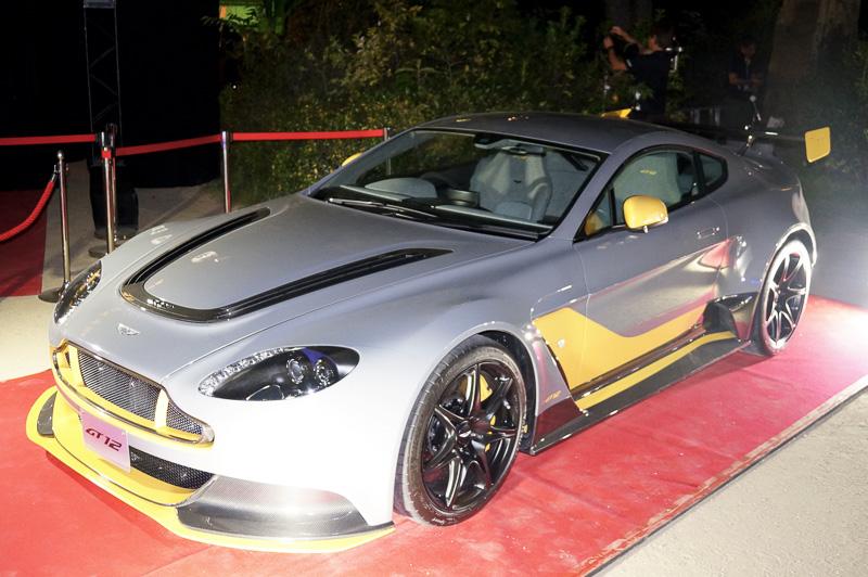 アストンマーティンのレーステクノロジーを投入したという「ヴァンテージ GT12 スペシャルエディション」