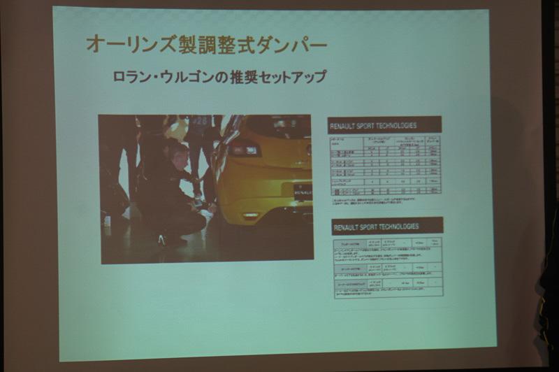 テストドライバーの奨励セットアップが提供される