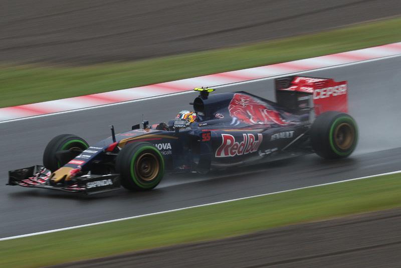 FP1でトップタイムを記録したカルロス・サインツ Jr選手