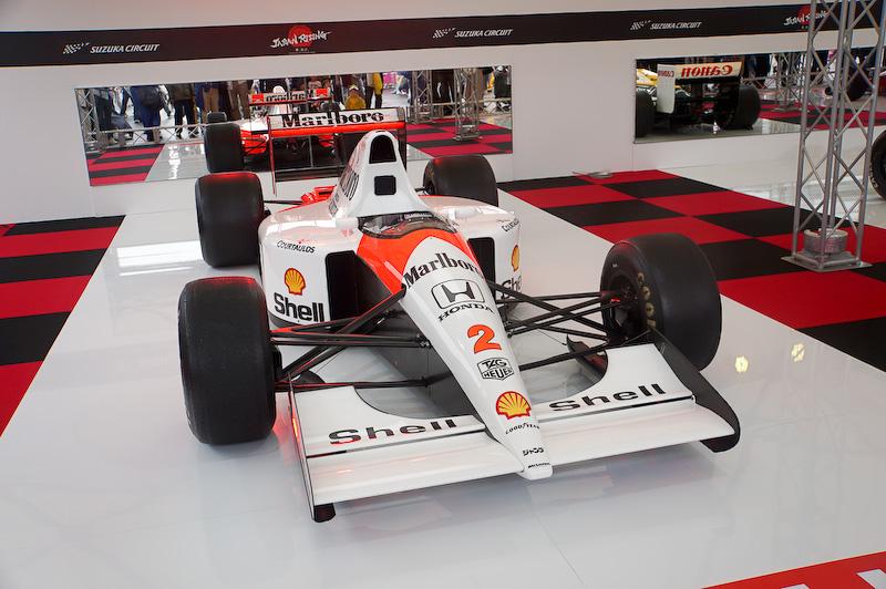 マクラーレン・ホンダ MP4/6、1991年の日本GPをベルガー氏がドライブして勝ったマシンだ