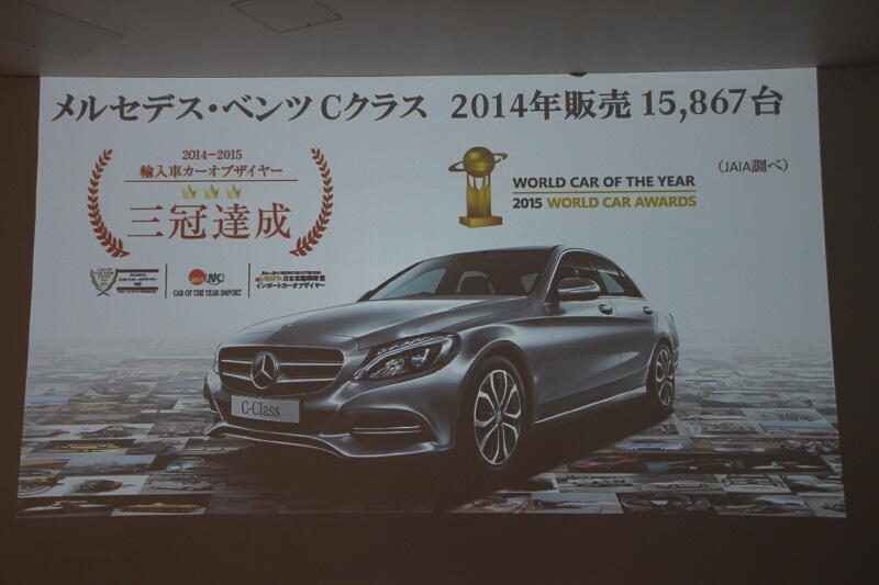 メルセデス・ベンツ日本の販売を牽引するCクラス