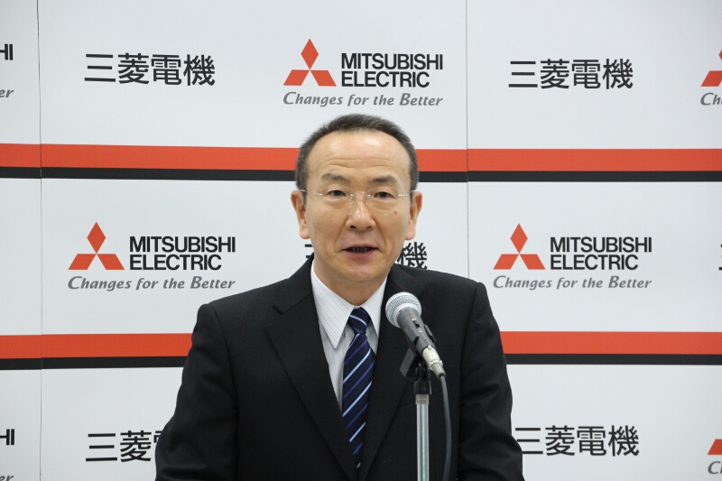 三菱電機 専務執行役 自動車機器事業本部長の大橋豊氏