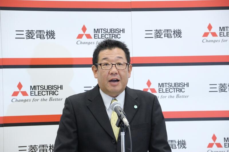三菱電機 三田製作所 カーマルチメディア製造第二部長 有田栄治氏