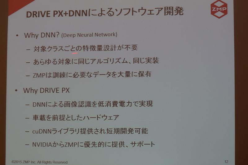 DRIVE PXとディープニューラルネットワークでの開発