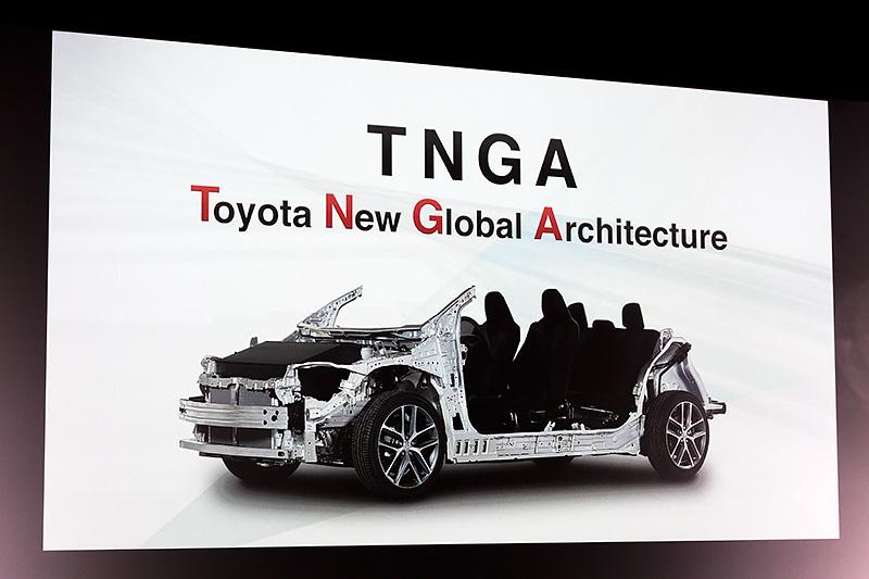 新型プリウスはTNGAを全面的に採用した初のクルマ