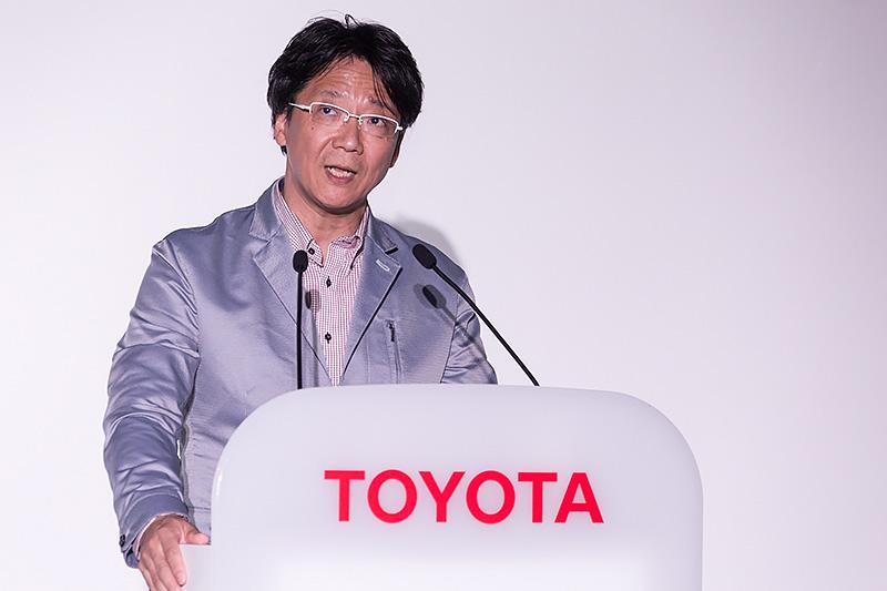 トヨタ自動車 製品企画本部 チーフエンジニア 豊島浩二氏