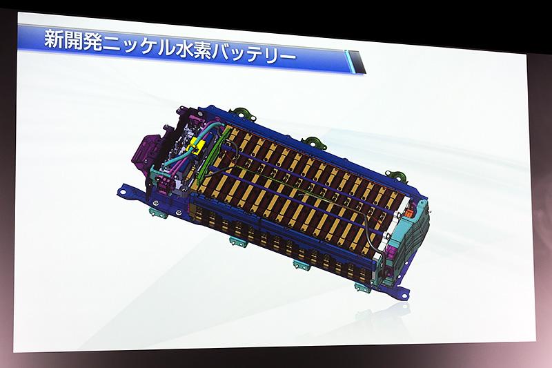 新開発ニッケル水素バッテリー