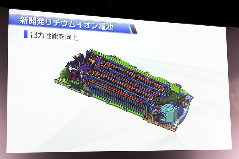 新開発リチウムイオン電池