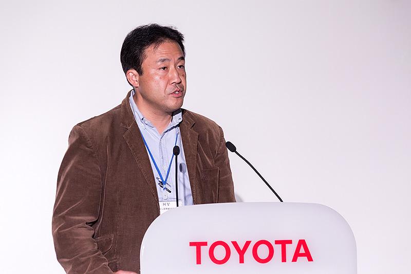 トヨタ自動車 HVシステム開発統括部 HVシステム開発室 主幹 伏木俊介氏