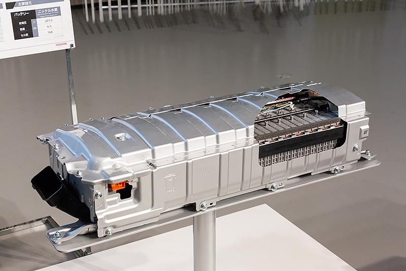 新型プリウスのニッケル水素バッテリー
