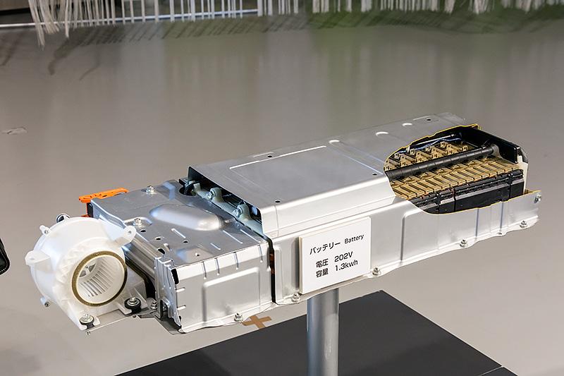 3代目プリウスのニッケル水素バッテリー