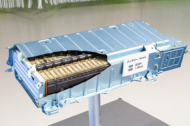 2代目プリウスのニッケル水素バッテリー