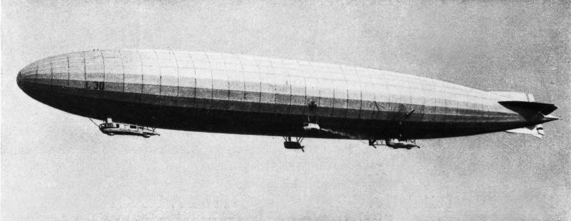 """""""歯車工場""""という名前で設立されたZF。当初から飛行船のツェッペリン号や航空機用のランニングギヤを製造"""